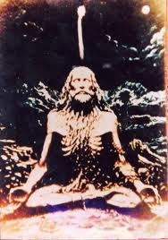 Yogi meditating